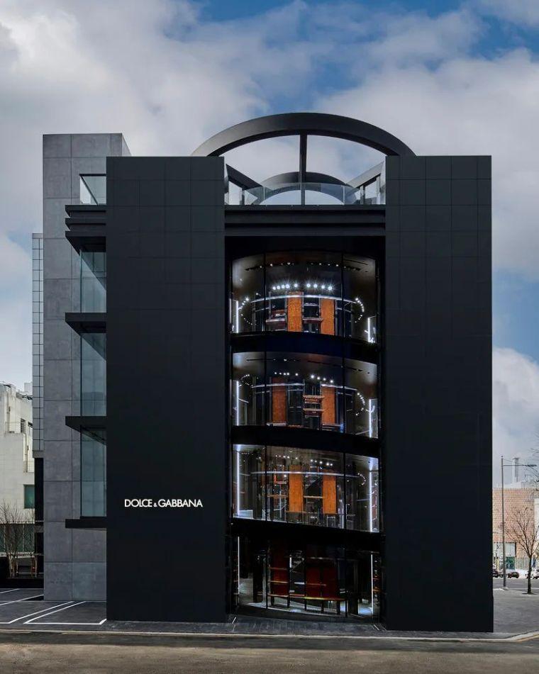 D&G首尔旗舰店,被包裹的'圆柱'_1