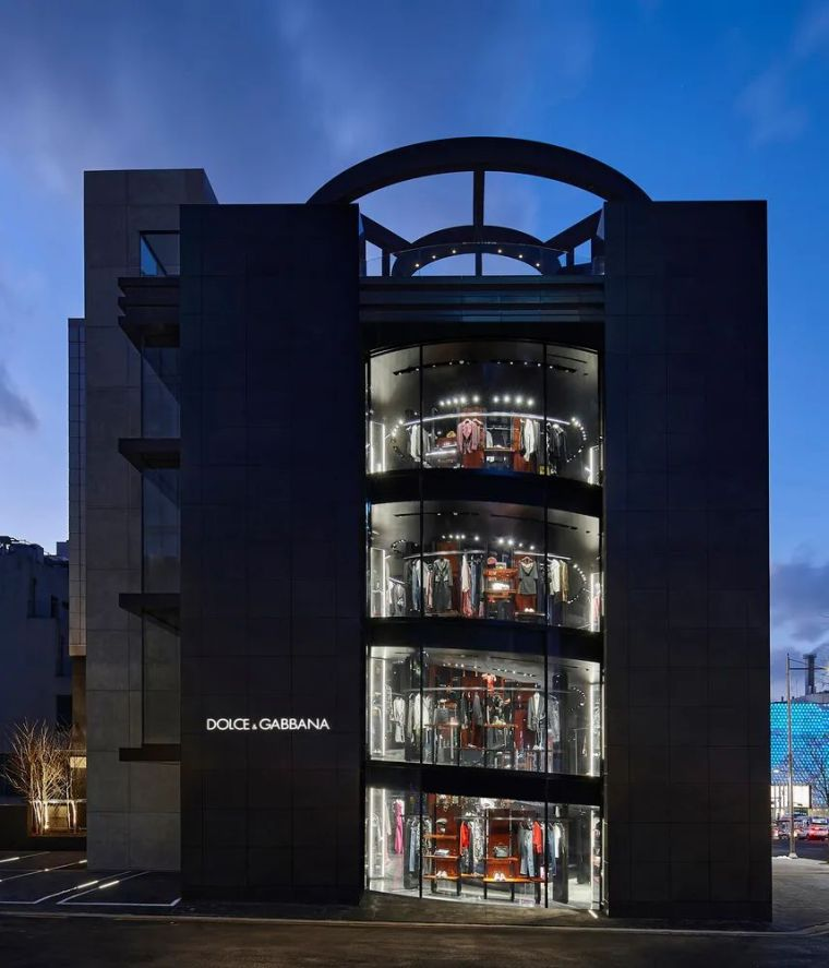 D&G首尔旗舰店,被包裹的'圆柱'_23