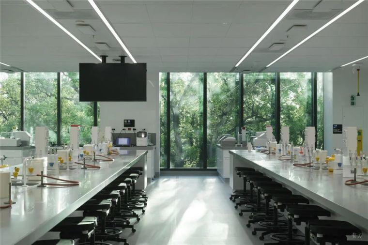 墨尔本大学生命科学教学楼,通透温室_8