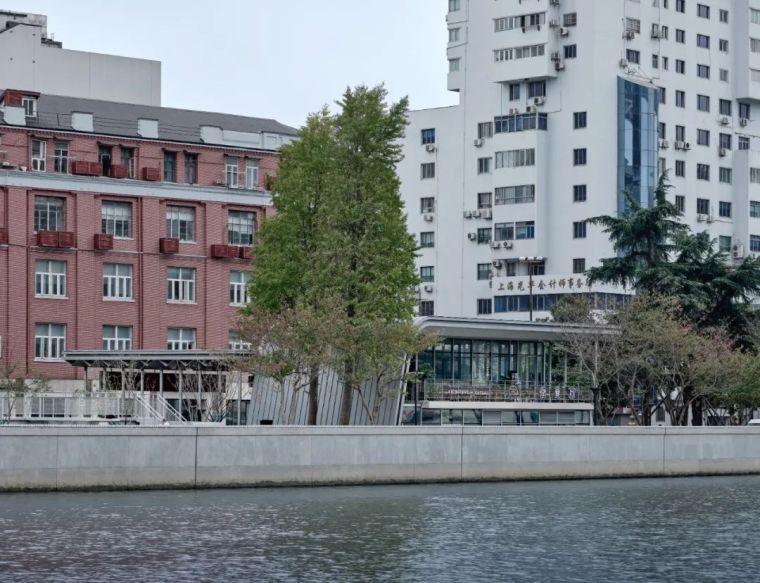 上海苏州河中石化加油站改造,钢折与砼折_4