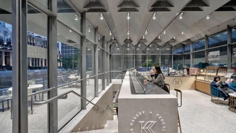 上海苏州河中石化加油站改造,钢折与砼折_14