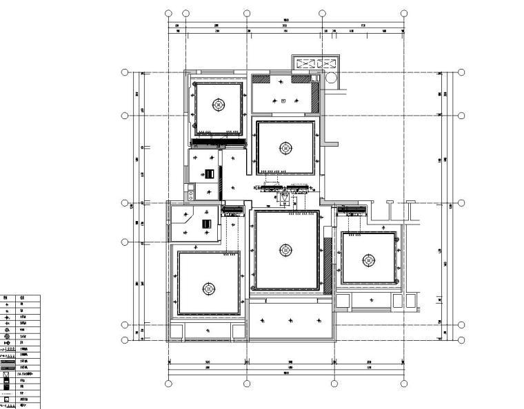 [浙江]朋克思潮115样板间装修施工图+实景图_3