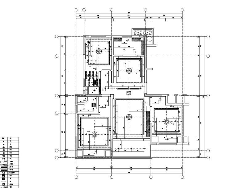 [浙江]朋克思潮115样板间装修施工图+实景图_4