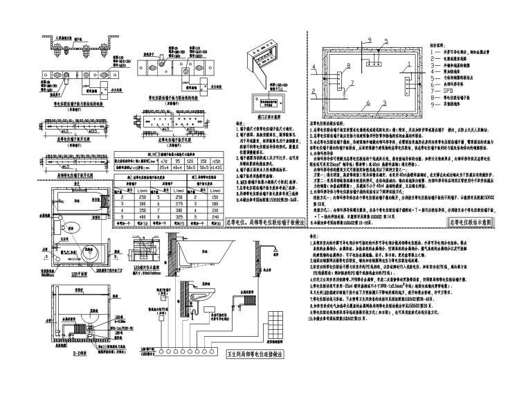知名地产_高层住宅楼电气施工图(2018)_7