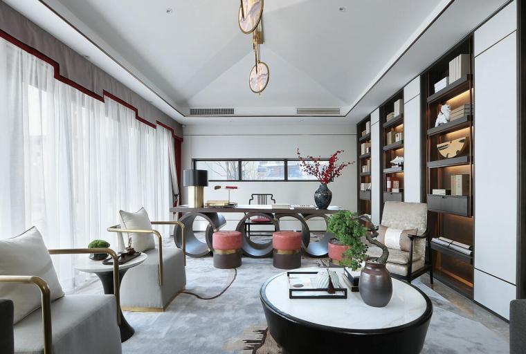 [北京]燕西华府中式合院别墅3D模型+效果图_5
