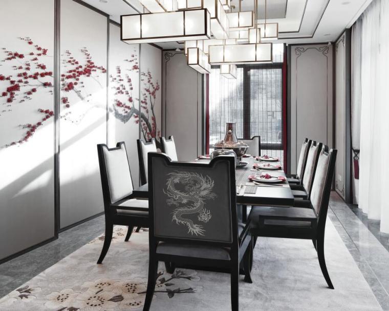 [北京]燕西华府中式合院别墅3D模型+效果图_4