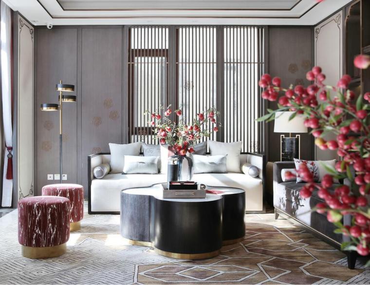 [北京]燕西华府中式合院别墅3D模型+效果图_3