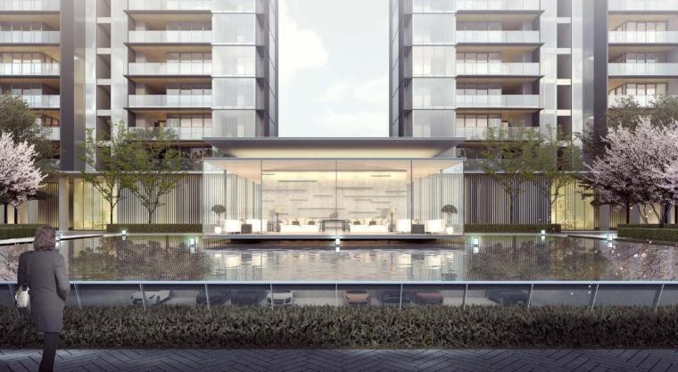 [四川]现代轻奢24亩地住宅建筑中标方案设计_3