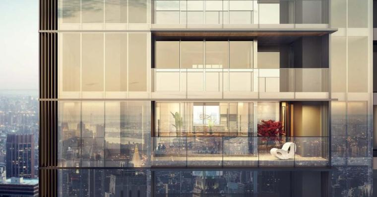[四川]现代轻奢24亩地住宅建筑中标方案设计_4
