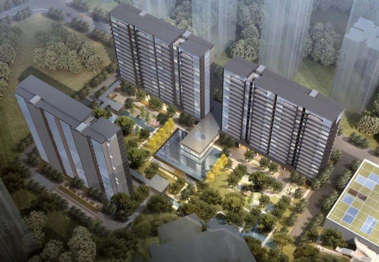 [四川]现代轻奢24亩地住宅建筑中标方案设计_6