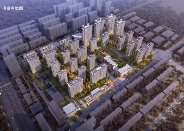 湖北石家庄现代典雅风+都市化住宅建筑方案_1
