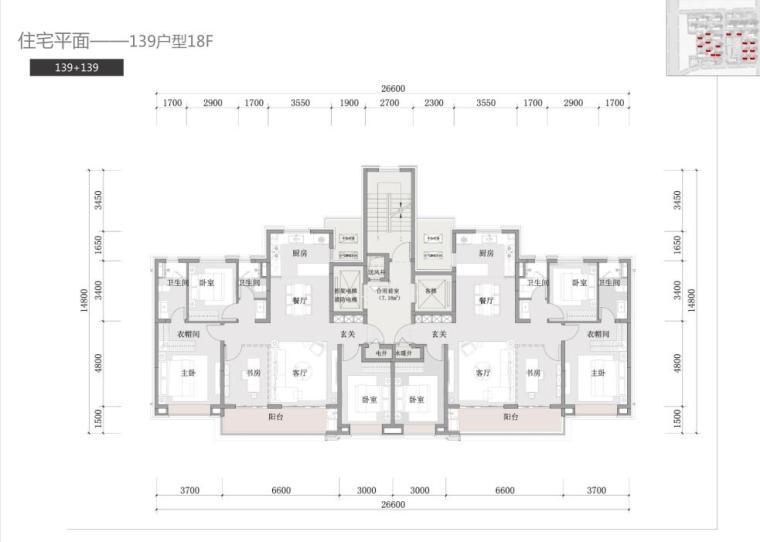 湖北石家庄现代典雅风+都市化住宅建筑方案_14