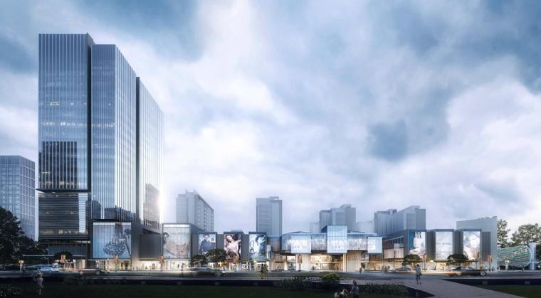 上海现代流线公园住宅+商业综合体建筑方案_11