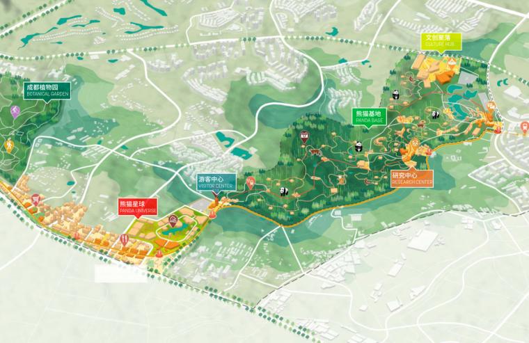[成都]熊猫国家系列公园整体概念规划方案_2