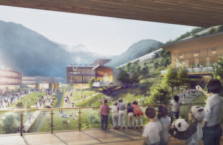 [成都]熊猫国家系列公园整体概念规划方案_4