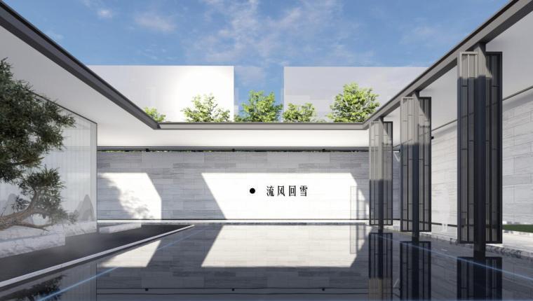 [辽宁]万锦公馆现代东方风格样板区景观方案_2