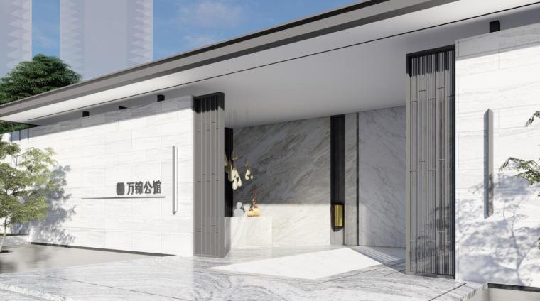 [辽宁]万锦公馆现代东方风格样板区景观方案_9