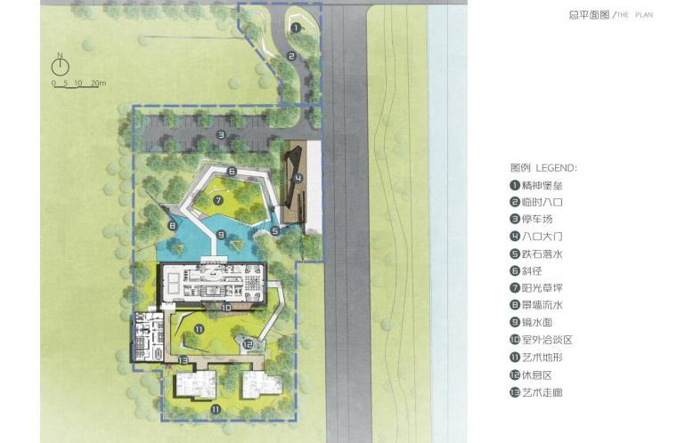 [北京]大兴现代简洁风格示范区景观概念设计_2