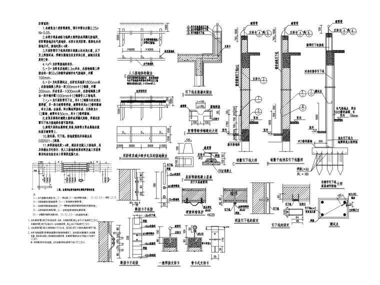 [广东]学校食堂及体育训练馆电气施工图_7