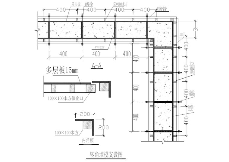 [天津]16层住宅模板工程施工方案(36P)_5