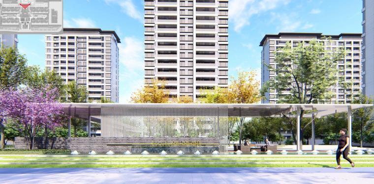 [河南]郑州现代典雅住宅景观设计方案文本_1