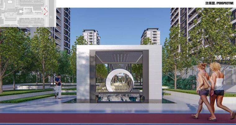 [河南]郑州现代典雅住宅景观设计方案文本_14