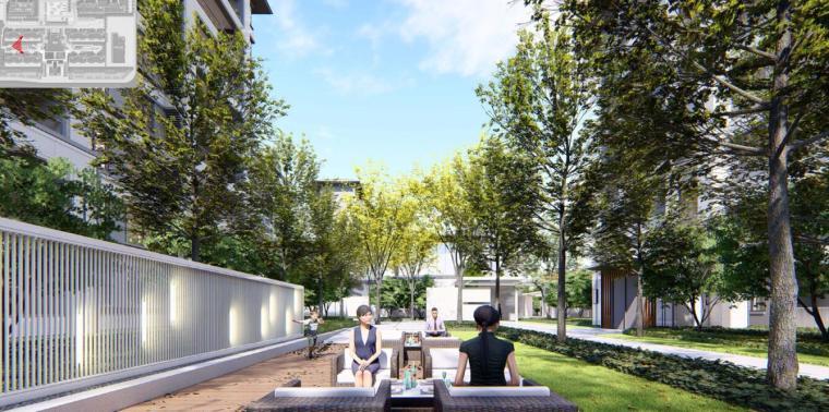[河南]郑州现代典雅住宅景观设计方案文本_11