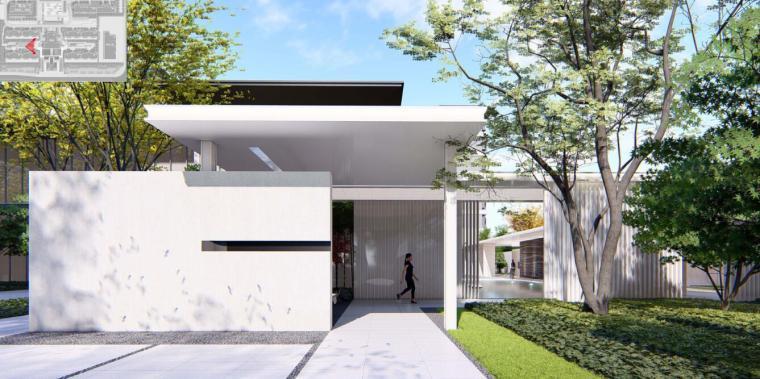 [河南]郑州现代典雅住宅景观设计方案文本_10