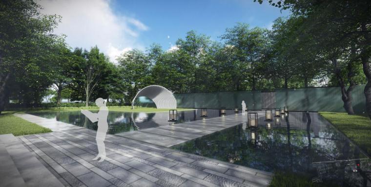 [江苏]现代风格滨水展示区景观概念方案设计_14
