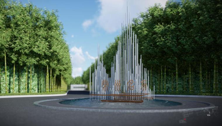 [江苏]现代风格滨水展示区景观概念方案设计_6
