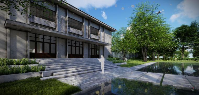 [江苏]现代风格滨水展示区景观概念方案设计_15