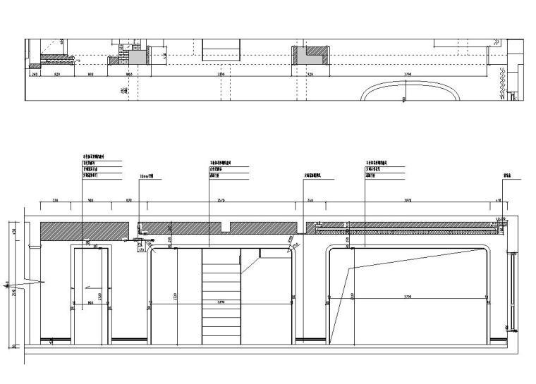 [浙江]300m²东方法式三层住宅装修施工图_11