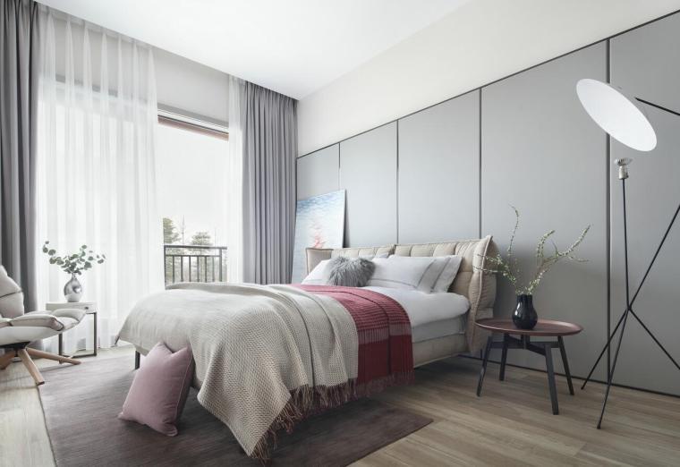 现代简约风格二层别墅住宅3D模型+效果图_3