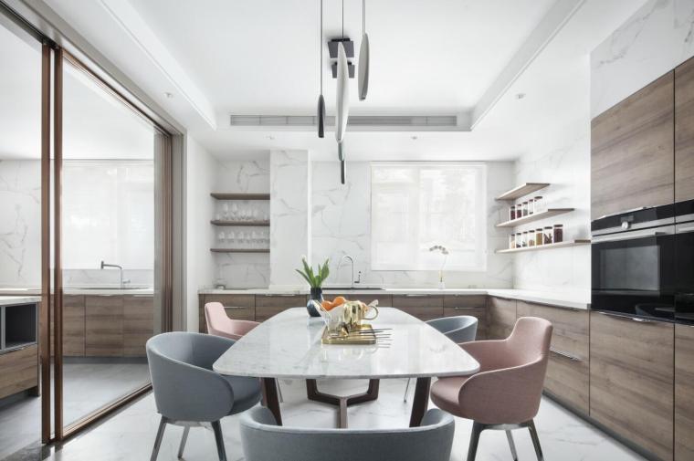 现代简约风格二层别墅住宅3D模型+效果图_1