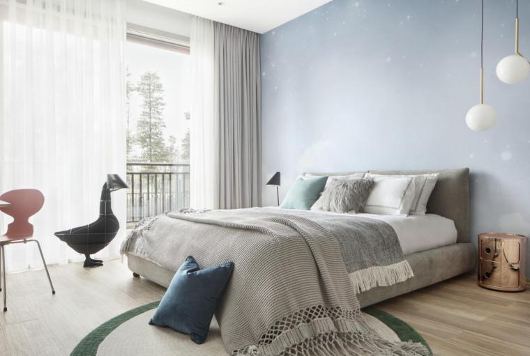现代简约风格二层别墅住宅3D模型+效果图_2