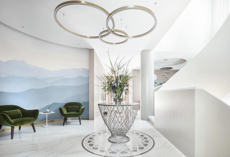 现代简约风格二层别墅住宅3D模型+效果图_7
