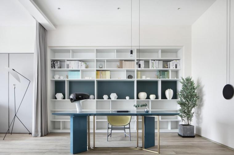 现代简约风格二层别墅住宅3D模型+效果图_5