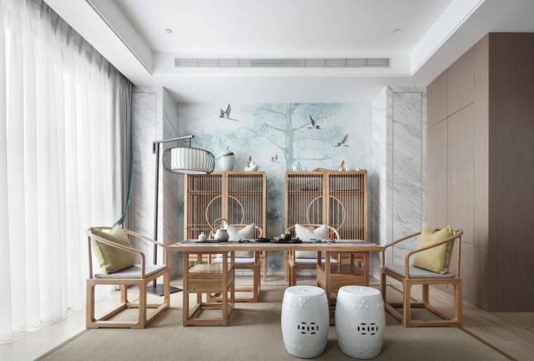 现代简约风格二层别墅住宅3D模型+效果图_8