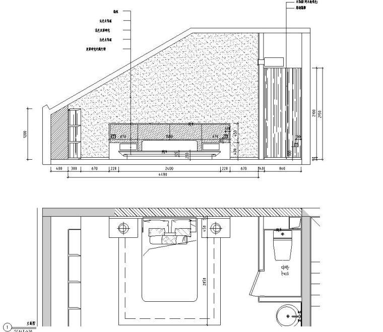 [北京]530㎡现代简奢风联排别墅装修施工图_5