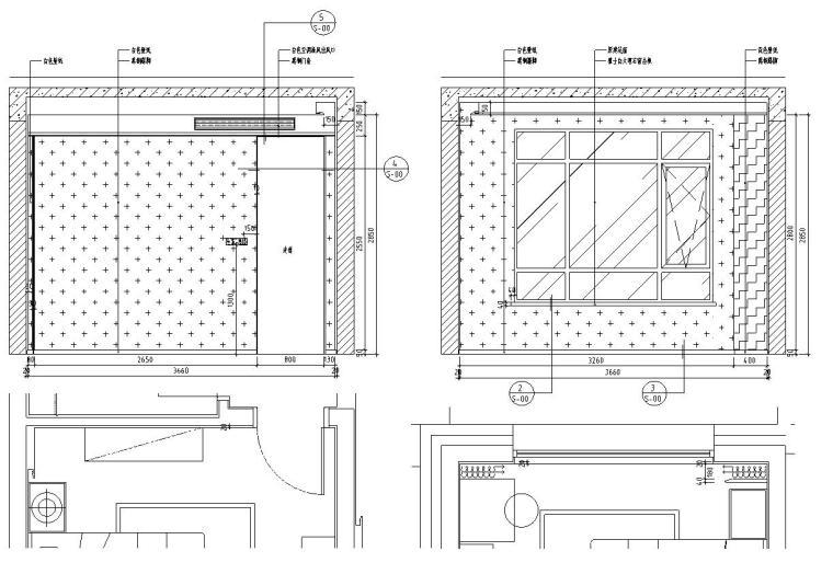 [北京]530㎡现代简奢风联排别墅装修施工图_12