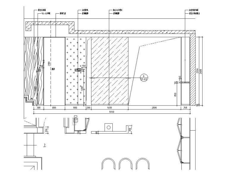[北京]530㎡现代简奢风联排别墅装修施工图_15