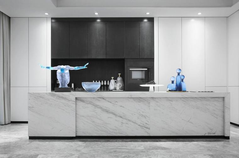 [北京]530㎡现代简奢联排别墅3D模型+效果图_5