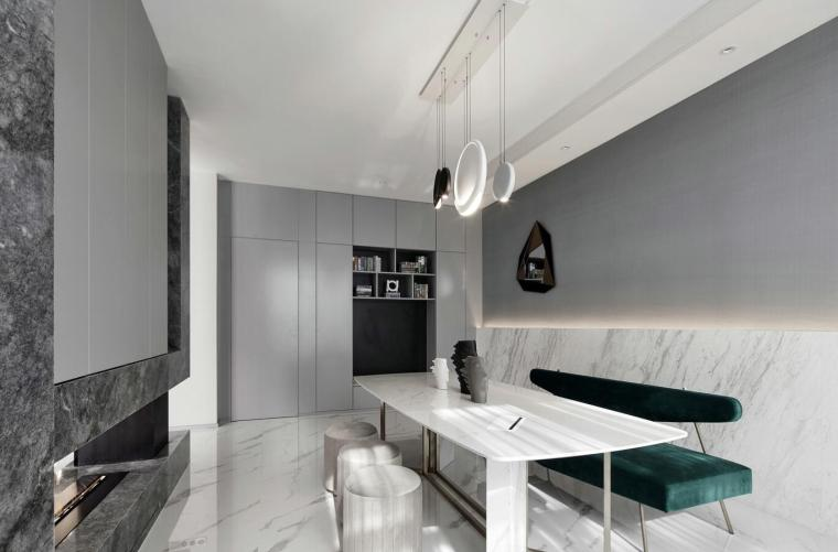 [浙江]轻奢华+新时尚风别墅3D模型+效果图_3