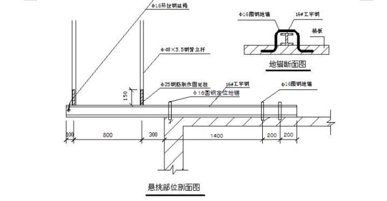 [河北]26层住宅悬挑式脚手架施工方案(59P)_6