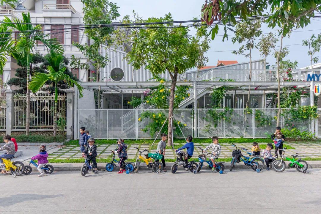 幼儿园似花园