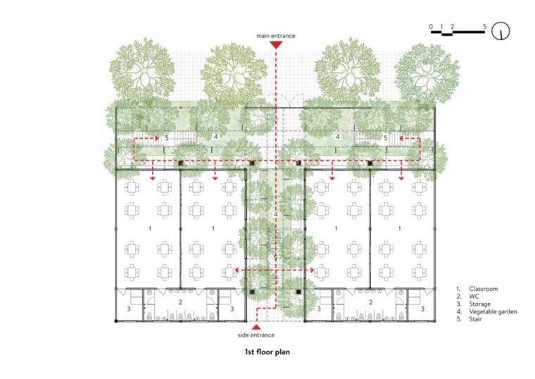 幼儿园似花园—越南蒙特梭利花园幼儿园_4