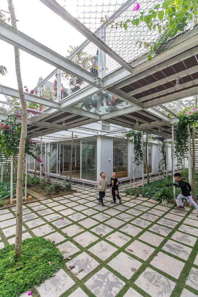 幼儿园似花园—越南蒙特梭利花园幼儿园_6