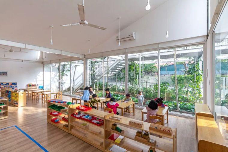 幼儿园似花园—越南蒙特梭利花园幼儿园_5