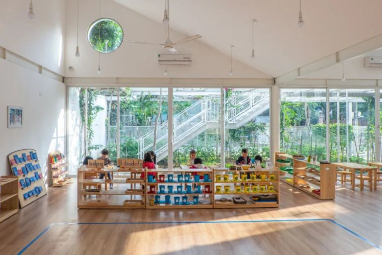 幼儿园似花园—越南蒙特梭利花园幼儿园_18