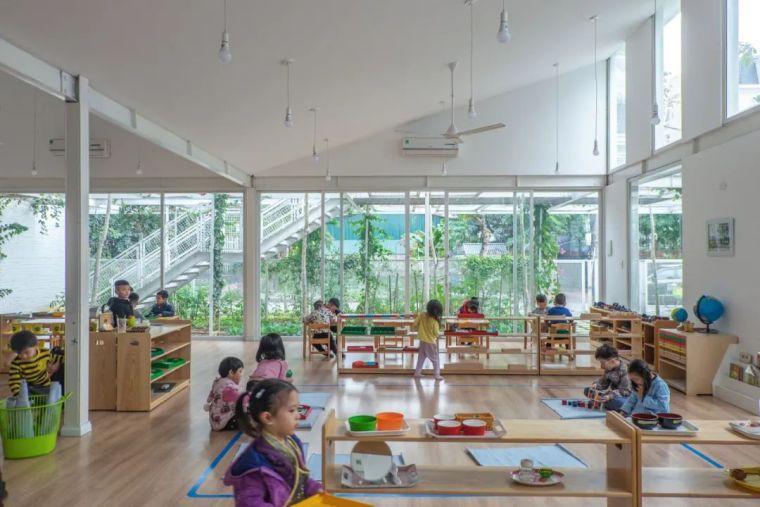 幼儿园似花园—越南蒙特梭利花园幼儿园_19